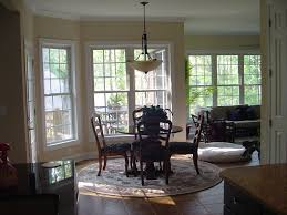 frank betz ambrose view into breakfast nook and sunroom from