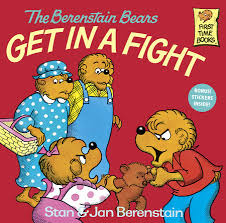 berenstein bears books the berenstain bears get in a fight penguin random house canada