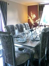 Silver Dining Chair Emejing Silver Dining Room Chairs Contemporary Rugoingmyway Us