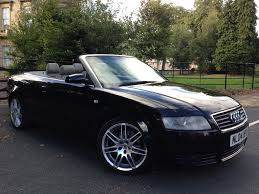2004 audi a4 cabriolet 1 8 manual rs4 wheels cheap to run in