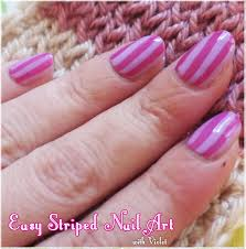 easy striped nail art tutorial violet lebeaux tales of an ingenue
