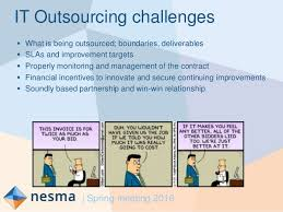 Challenge What Is It The Challenge Of It Outsourcing