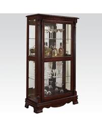 curio cabinet with light great deal on carrie collection 90066 33 curio cabinet with 5mm