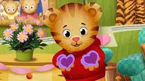 daniel tiger plush toys daniel tiger u0027s neighborhood it u0027s love day daniel u0027s love day
