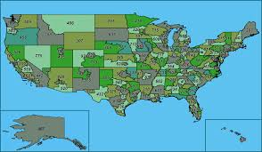 map all united states of america area codes usa area code map map of