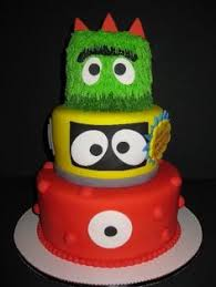 yo gabba gabba birthday cake3d cards three tier blaze and the machines cake with racetrack