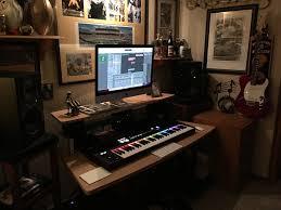 Small Music Studio Desk by Studio Rta Work Station Maple Musician U0027s Friend