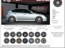 change your actual car u0027s wheels online without photoshop and for