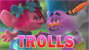 i tolerate you coloring page trolls movie queen poppy and creek hug time kids coloring book