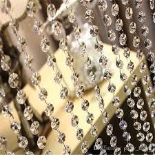 Acrylic Chandelier Beads by Diy Craft Pearl Wedding Decoration Acrylic Octagon Bead Diamond