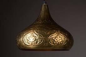 Esszimmer Lampe Messing Pendelleuchte Hängelampe Oni Messing Von Dutchbone