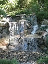 Backyard Pondless Waterfalls by Just A Falls Pro Series Pondless Waterfall Kits