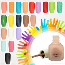 Couleur Ongle Gel by 20 Couleurs Vernis à Ongle Mat Terne Fragrant Gel Uv Protection
