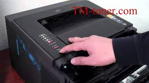 brother printer drum light how to reset the toner cartridges for brother printer youtube