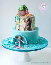 girl cake surfer girl cake cakecentral
