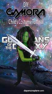 Gamora Costume Tutorial For Gamora Halloween Costume From Guardians Of The Galaxy