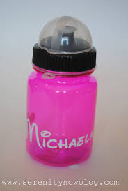 serenity now diy personalized disney water bottles disney craft