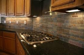 Brown Gray Metal Slate Backsplash by Kitchen Best Solutions Of Granite Countertop Kitchen Cabinet