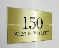 wonderful signs makes metal sign plaques with etched engraved or