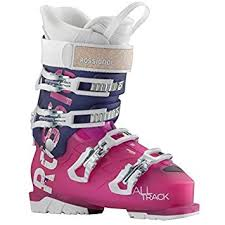 womens ski boots canada rossignol alltrack 70 w womens ski boots 2016 23 5 pink violet