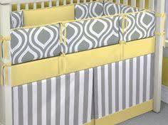 Yellow And Gray Crib Bedding Set Modern Grey Yellow White Bird Neutral Baby Bedding Boy Crib