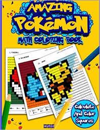 amazon com amazing pokemon math cool math activity book for