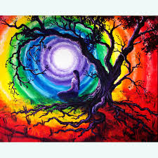 tree of meditation original painting sold prints available
