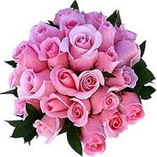 pink bouquet bunch of 12 pink roses lovely pink bouquet flowers homeshop18
