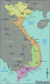 Geographical Map Map Of Vietnam