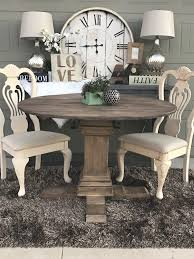chalk paint farmhouse table shanty 2 chic annie sloan chalk paint round pedestal farmhouse