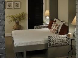 Small Bedroom Ideas With King Bed Bed Ideas Low Profile King Bed Frame With Grey Upholstered