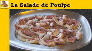 cuisiner le poulpe recettes la salade de poulpe recette rapide et facile
