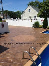 Patio Paver Contractors Nicolock Paving Pool Deck Lindenhurst N Y