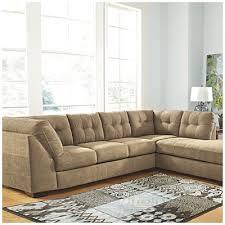 big lots leather sofa signature design ashley driskell mocha 2 piece sectional big big