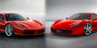 ferrari dealership inside new 2015 ferrari 488 gtb vs 458 italia u2013 side by side comparison