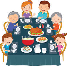 royalty free thanksgiving dinner clip vector images