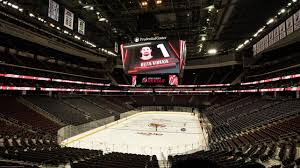 largest in arena scoreboard in the world unveiled at prudential center