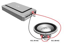 subwoofer amp wiring diagram image details
