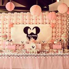 minnie mouse birthday party decorations ideas Minnie Mouse