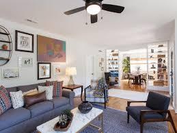 living room modern armchair vintage rugs nyc mid century modern
