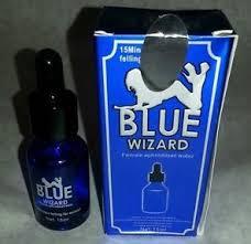 blue wizard perangsang wanita reaksi tercepat