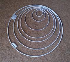 large metal rings images 50cm white coated metal ring large metal hoop glitterwitch jpg