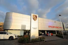 porsche showroom 2013 porsche centre lebanon celebrates arrival of panamera in new