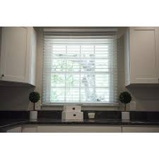 2 Faux Wood Blinds Lowes Shop Safe T Shade 2 In Cordless Soft White Faux Wood Room