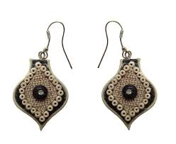 jute earrings buy alekip fancy jute jewellery for women online best prices in