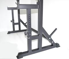 Squat Rack And Bench Amazon Com Squat Rack W Bench Safety Stands H D Adjustable