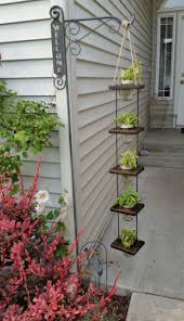 Wall Plant Holders Plant Stand Vertical Floating Plant Holders Hanging Multiple Pot