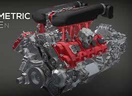 Ferrari 458 V8 - artstation ryan tuerck gt4586 rendering andreas hoås wennevold