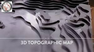 Hotel Lobby Reception Desk by Hospitality Art 3d Topographic Map Artwork For Hotel Lobby