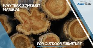 what is the best for teak furniture why teak is the best material for outdoor furniture aqua teak